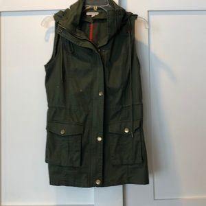 Green Utility Vest